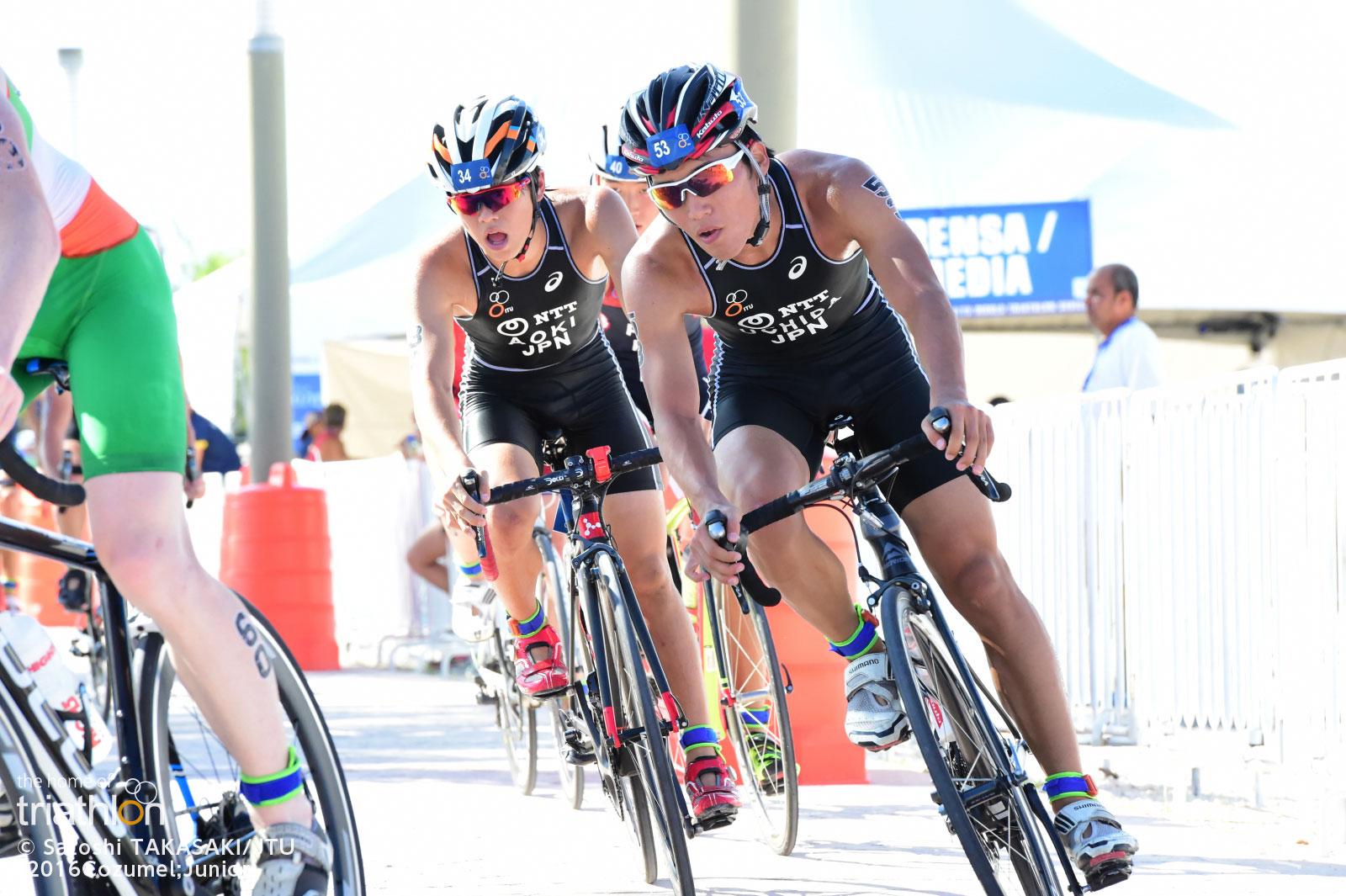 ITU世界ジュニアトライアスロン選手権(2016/コスメル)